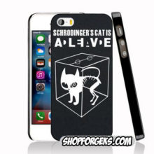 """Schrodinger 's Cat"" case for iPhone & Samsung smartphones"